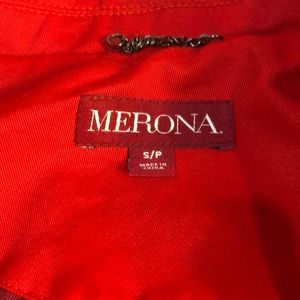 Merona Jackets & Coats - 💥24 HR SALE💥 Merona Red Trench Coat, Small
